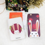 Bunny Bunny Combo Passport Holder and Phone case