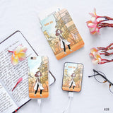 Modern Ao dai Vietnam Combo Personalizable Passport Holder, Power Bank and Phone case