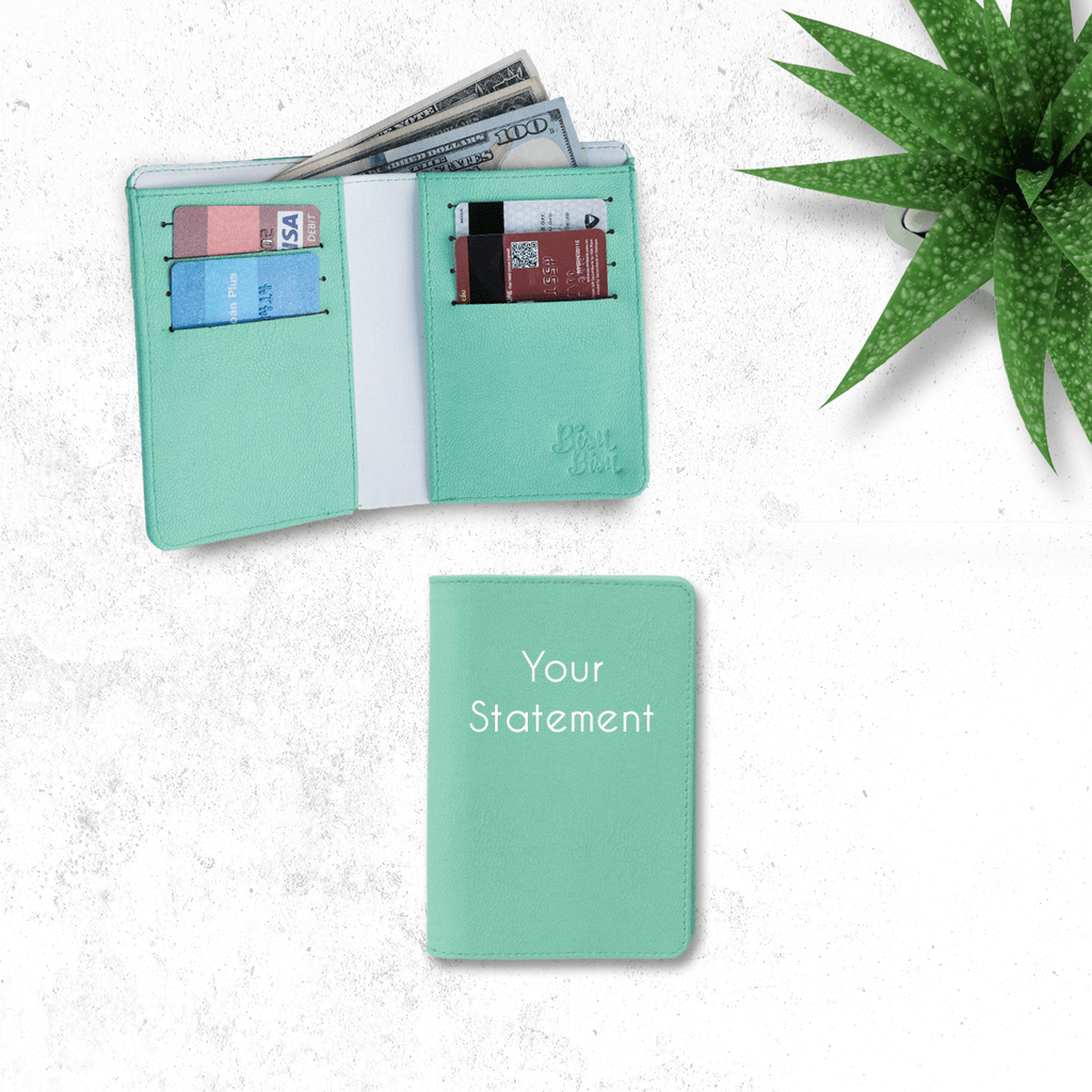 Fully Customizable Green Wallet
