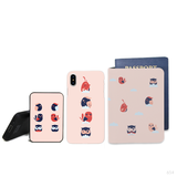 Above The Clouds Combo Passport Holder, Power Bank and Phone case