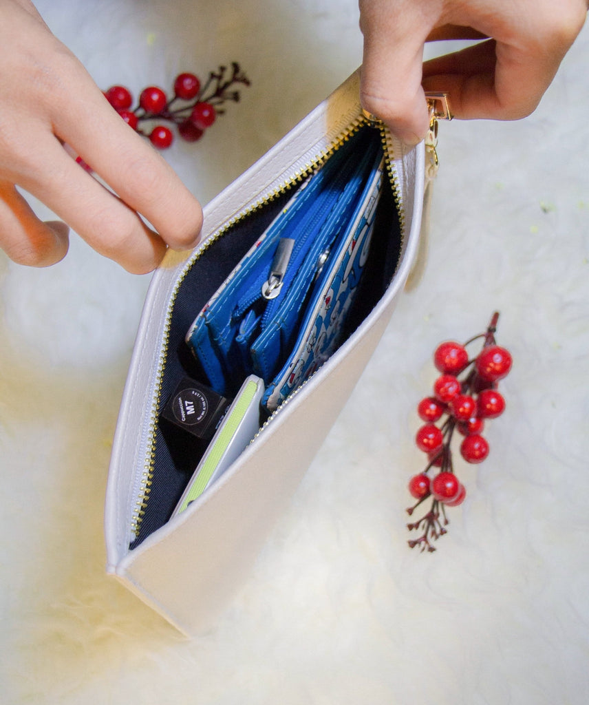 Cherries Combo Wallet , Clutch and Phone case