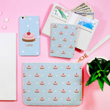 Cream Cake Combo Wallet , Clutch and Phone case