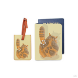 Grumpy Cat Combo Luggage Tag and Personalizable Passport Holder