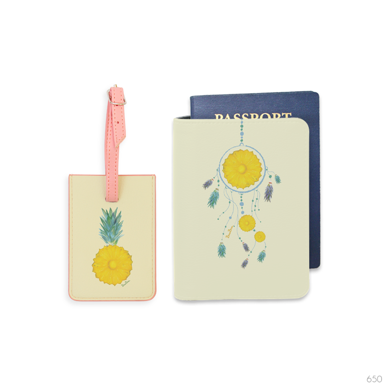 Fruit Crush Luggage Tag and Passport Holder