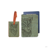Wild Soul Combo Luggage Tag and Personalizable Passport Holder