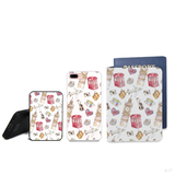 Travel Pattern Combo Personalizable Passport Holder, Power Bank and Phone case