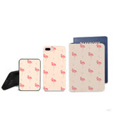 Flamingo Combo Passport Holder, Power Bank and Phone case