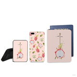 Fruit Crush Combo Passport Holder, Power Bank and Phone case