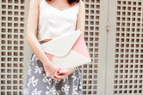 Pastel Color Envelope Clutch