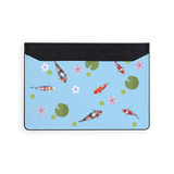 Koi and Lotus Leaf Card Holder