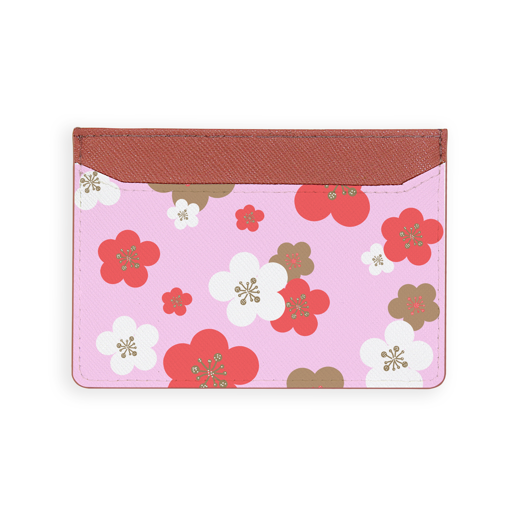 Simple Apricot Blossom Card Holder