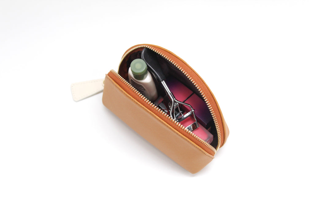 Half Moon Pouch - Brown