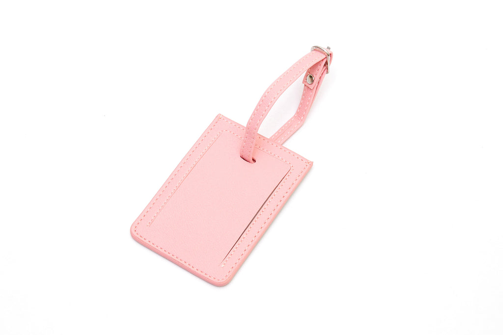 Flamingo Combo Luggage Tag and Passport Holder