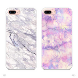 Marble Couple Phone Cases