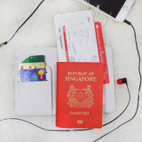 Rosy Marble Combo Personalizable Passport Holder, Power Bank and Phone case