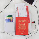 His & Hers Arrows Couple Personalizable Passport Holders