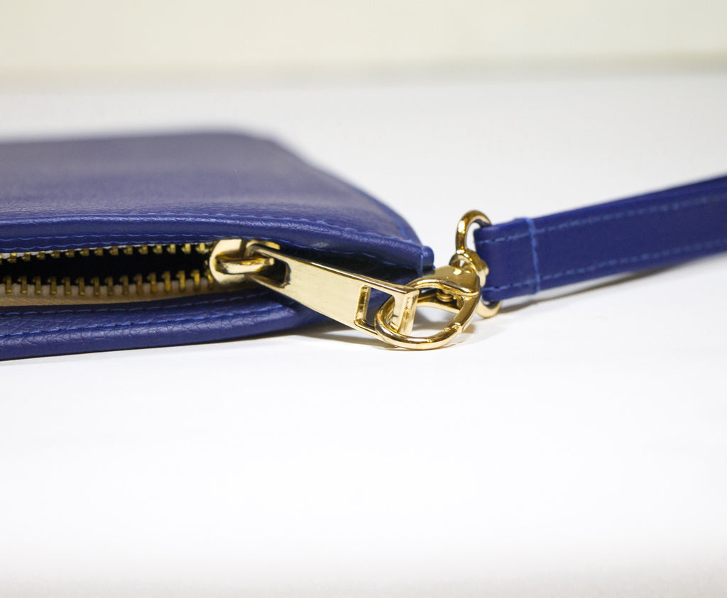 Fully Customizable Blue Clutch