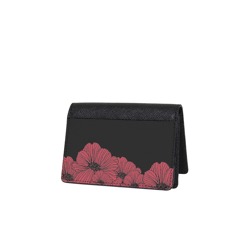 Eternity Flowers Mini Wallet