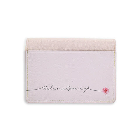 Floral Monogram Card Holder