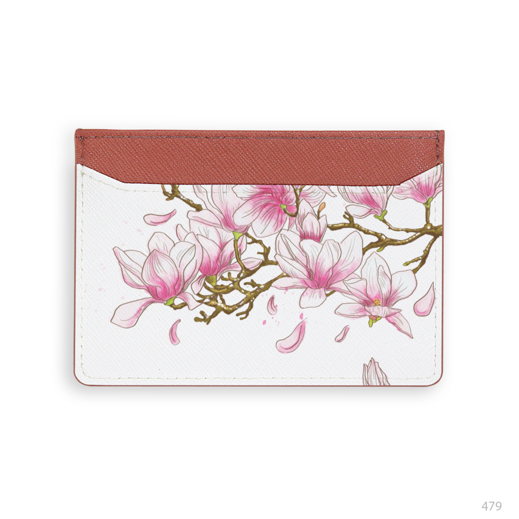Magnolia flower Card Holder