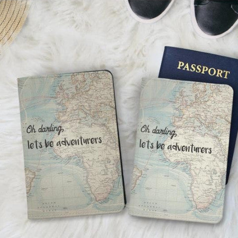 Oh! Darling Personalizable Passport Holder