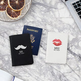Mr. & Mrs. Couple Passport Holders