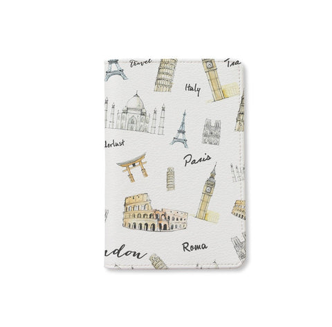 To Travel Is To Live Personalizable Passport Holder