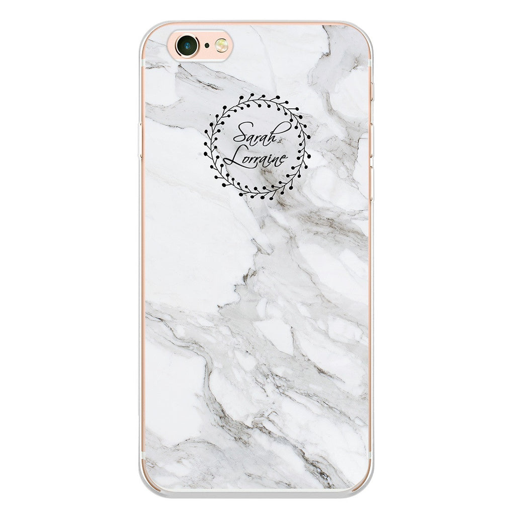 Pearl Marble Stone Phone Case