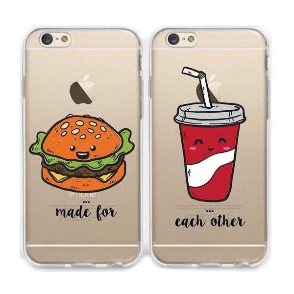 Make For Each Other Couple Phone Cases
