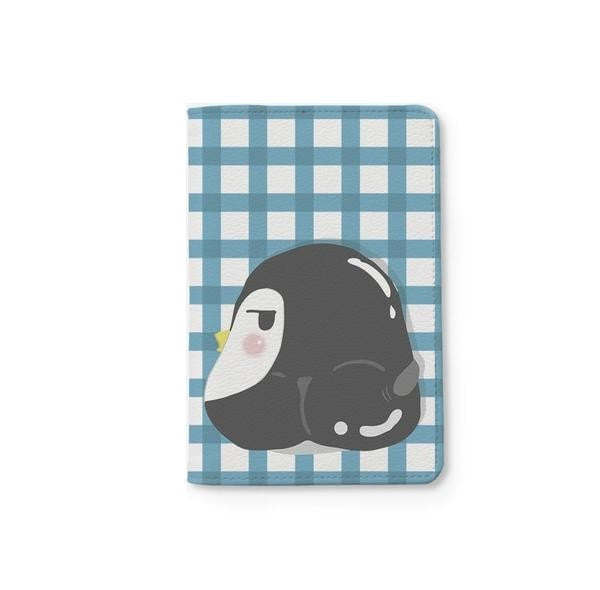 Cute Penguin Passport Holder