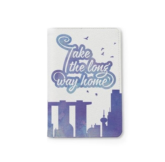 Take me to home Personalizable Passport Holder