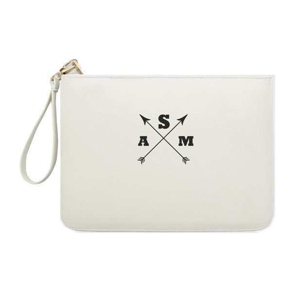 Basic Customized Monogram Clutch