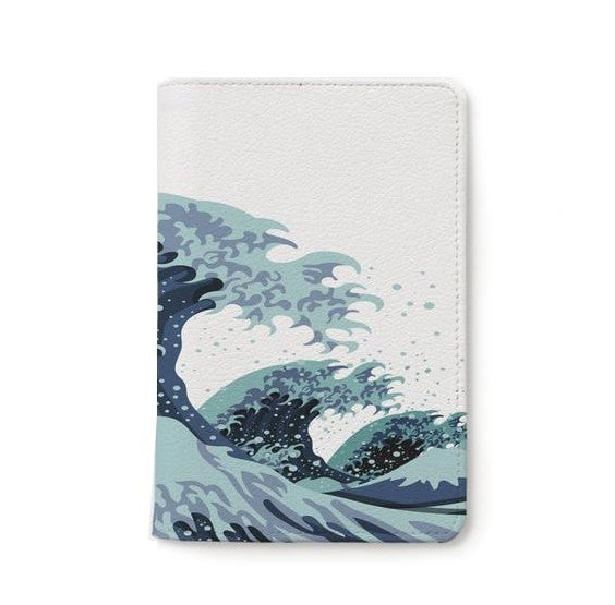 Strong Wave Personalizable Passport Holder