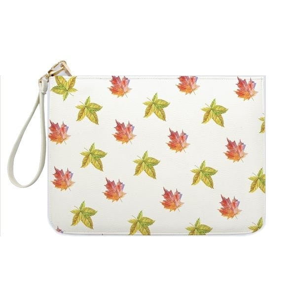 Fall Maple Leaves Clutch