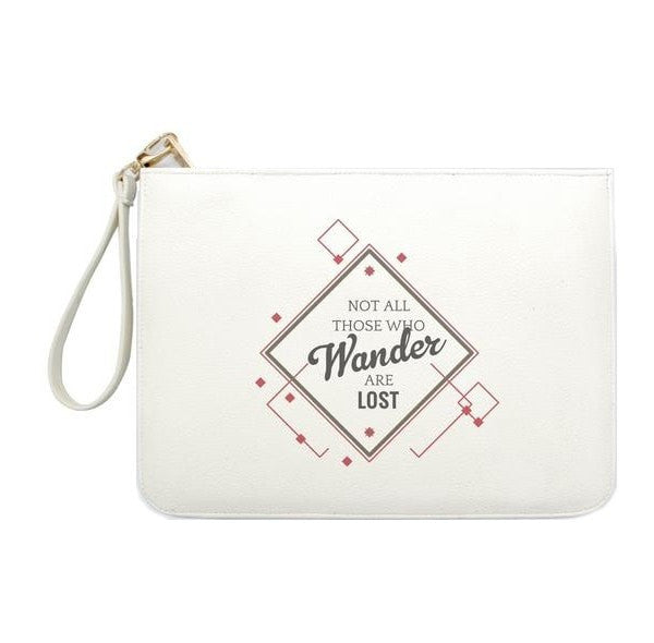 Not all Those who Wander are Lost Simple Clutch