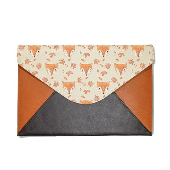 Cute Small Fox Envelope Clutch