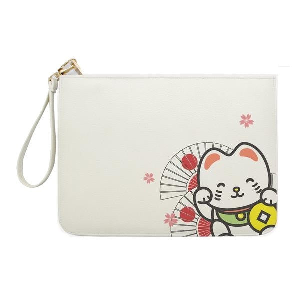 Lucky Cat Maneki Clutch