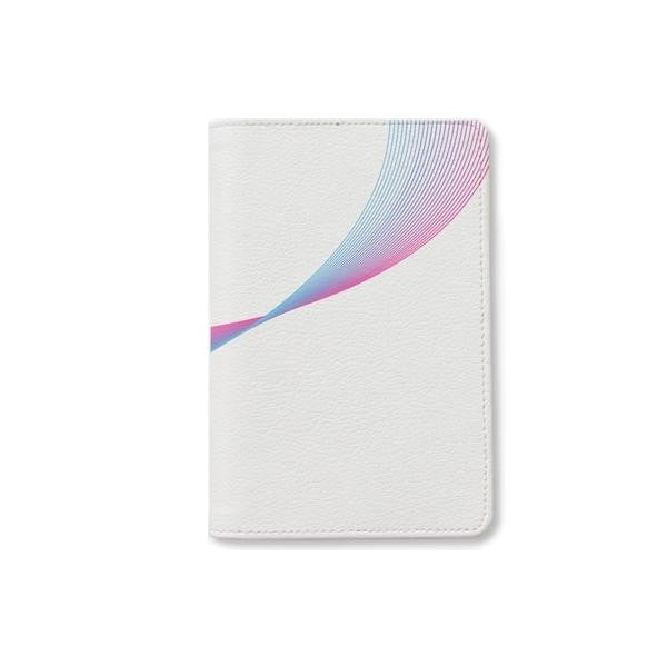 Rainbow Wave Passport Holder
