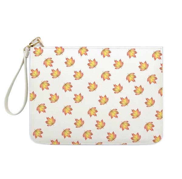 Mini Maple Leaves Clutch