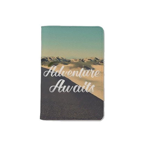 Not All Those Who Wander Are Lost Simple Personalizable Passport Holder
