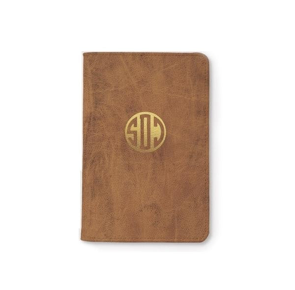 Customized Monogram Personalizable Passport Holder