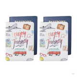 Enjoy the Journey Items Personalizable Passport Holder