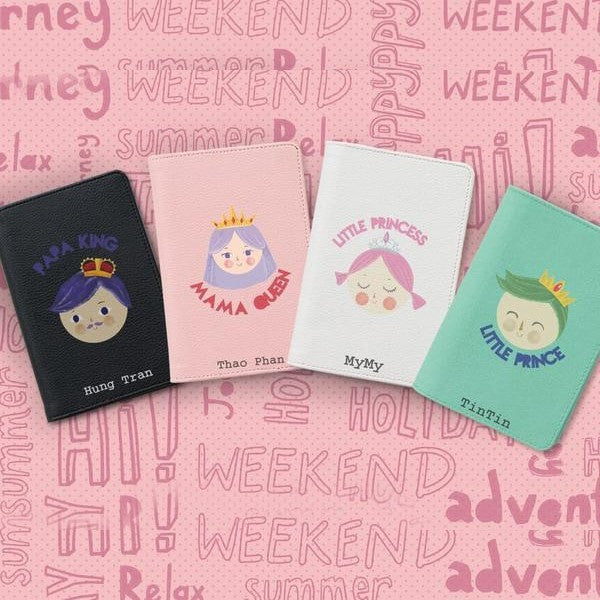 Royal Family Personalizable Passport Holders