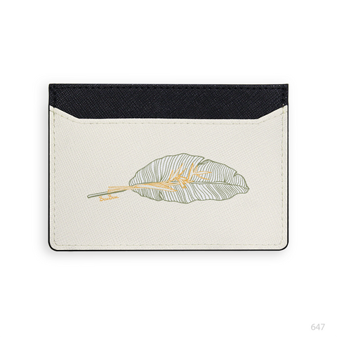 Yellow Marble Card Holder