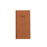Signature Saffiano Travel Wallet (Brown)