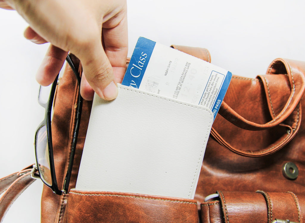 Fly With Me Personalizable Passport Holder
