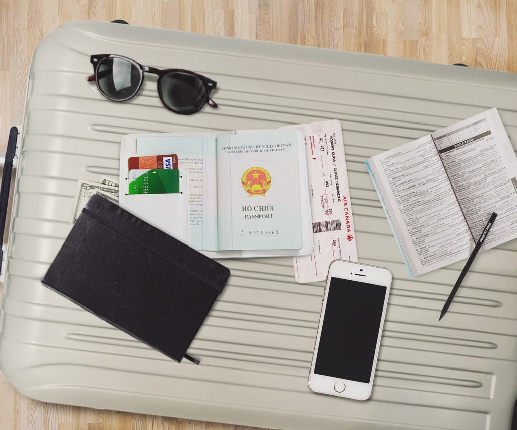 Let's Fly Personalizable Passport Holder