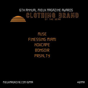 Mieux Best Clothing Brand Nomination
