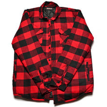 Red Lined PRSNLTY Flannel (L)