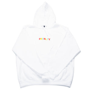 Primary White Hoody